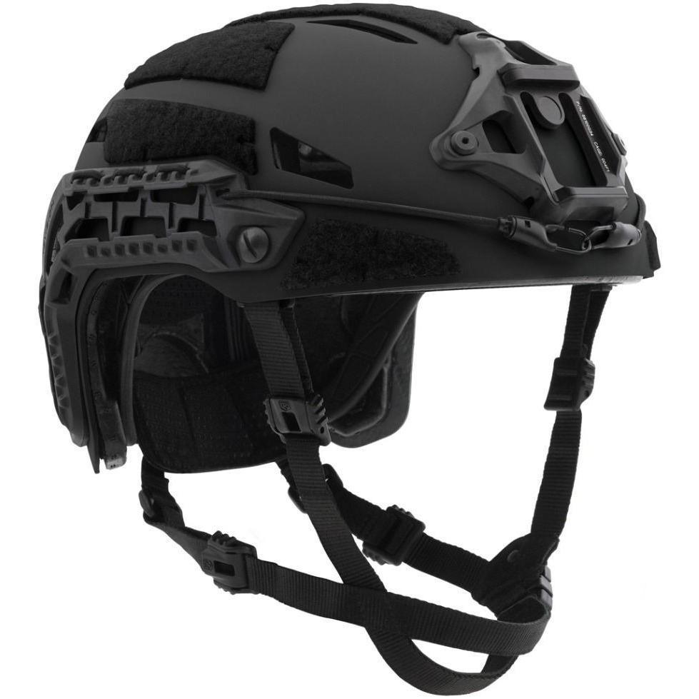 Black; Galvion Caiman Bump Helmet - HCC Tactical