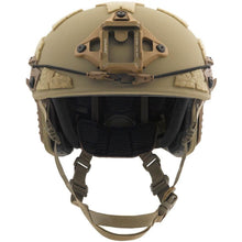 Galvion Caiman Helmet System Tan Front - HCC Tactical