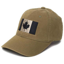 Olive; Pipe Hitters Union Canadian Flag Flexfit Hat - HCC Tactical