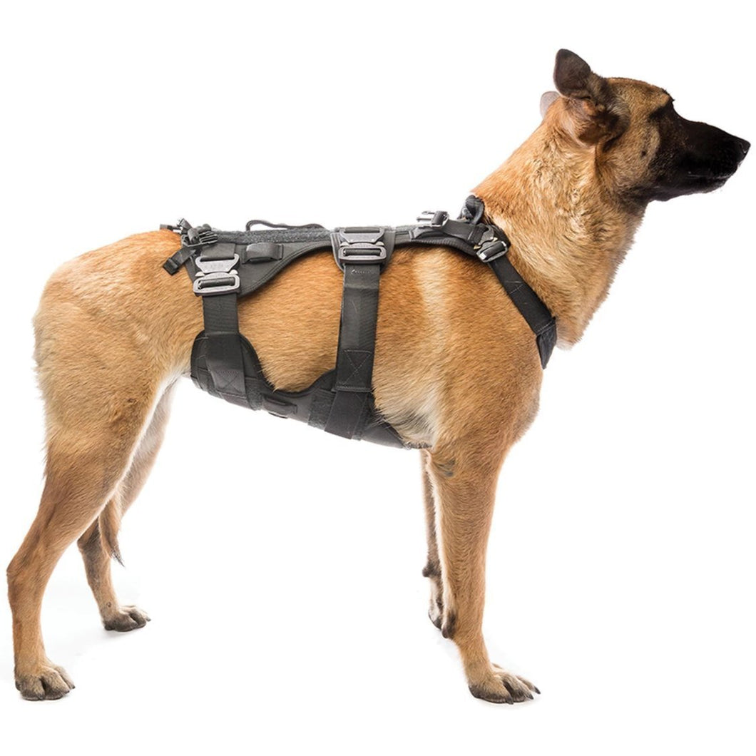 Black; Eagle Industries Canine Adjustable Harness - HCC Tactical