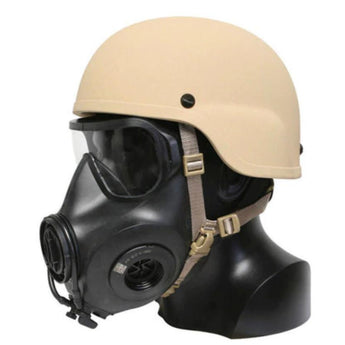 Ops-Core CBRNE Chinstrap Extender View - HCC Tactical