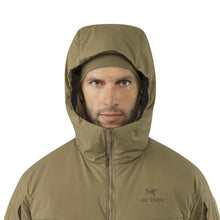 Arc'teryx LEAF Cold WX Hoody LT Men's Hood Front View - HCC Tactical