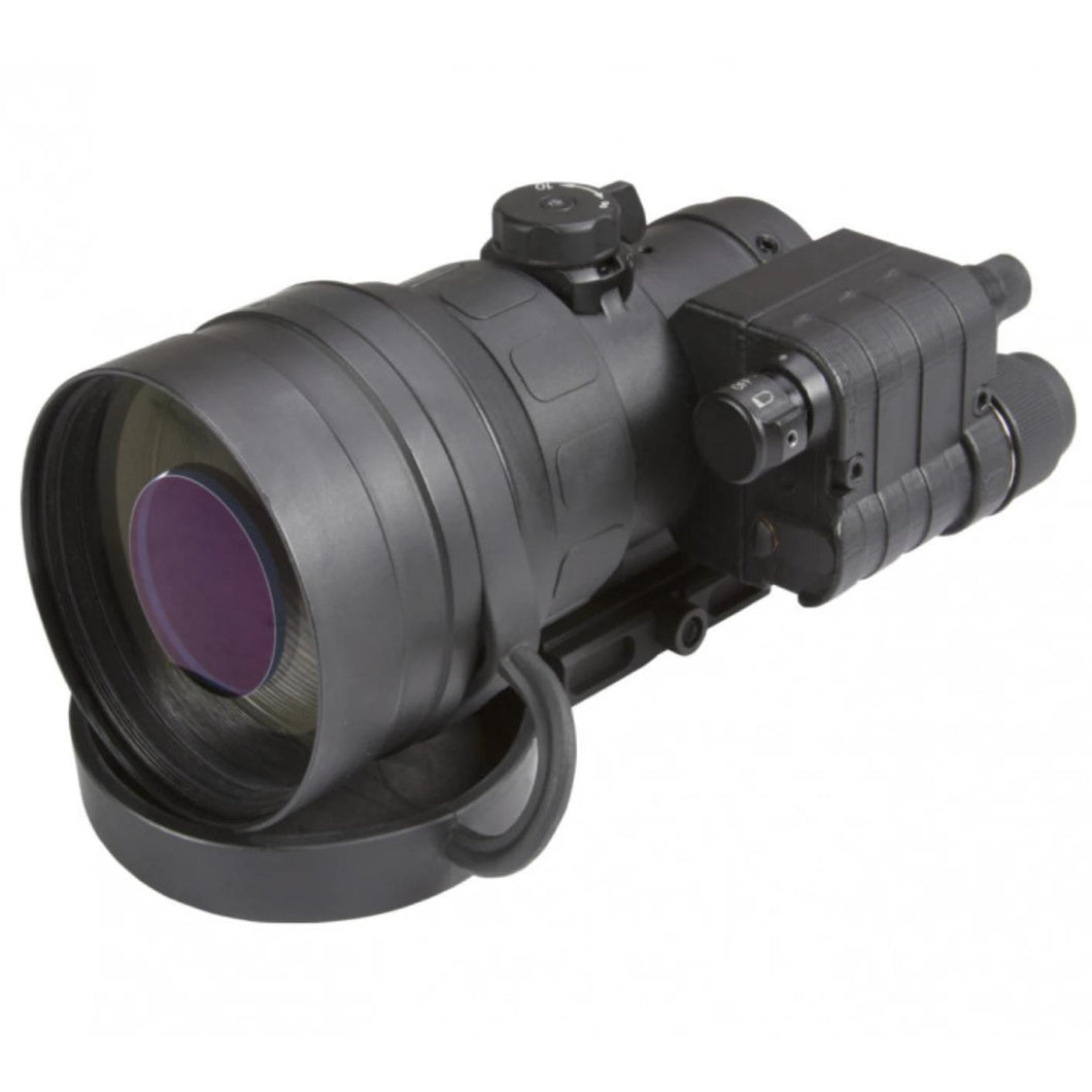 Black; AGM Global Vision AGM COMANCHE-22 (Gen 2+ White Phosphor Clip-On) - HCC Tactical