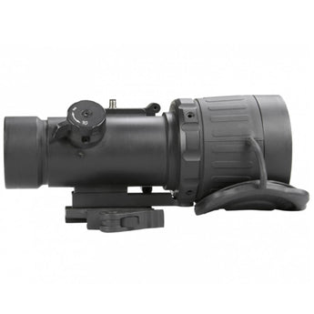 AGM Global Vision AGM COMANCHE-40 (Gen 3+ Auto-Gated White Phosphor Clip-On) Reverse Profile - HCC Tactical