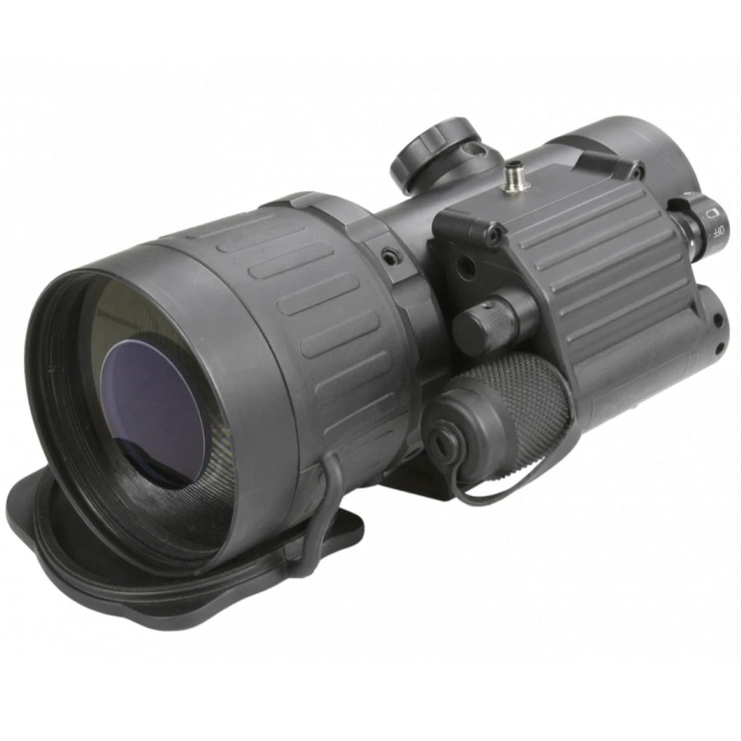 Black; AGM Global Vision AGM COMANCHE-40 (Gen 3+ Clip-On) - HCC Tactical