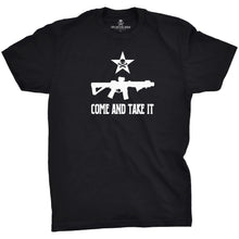 Black; Pipe Hitters Union Come and Take It - Rifle Tee - HCC Tactical