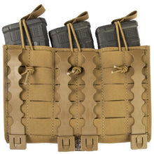 alt - Coyote: Grey Ghost Gear Compact Triple Mag Panel 5.56 - Laminate - HCC Tactical
