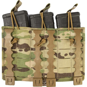 alt - MultiCam; Grey Ghost Gear Compact Triple Mag Panel 5.56 - HCC Tactical