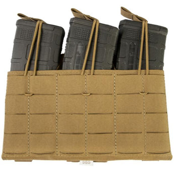 Coyote: Grey Ghost Gear Compact Triple Mag Panel 5.56 - Laminate - HCC Tactical