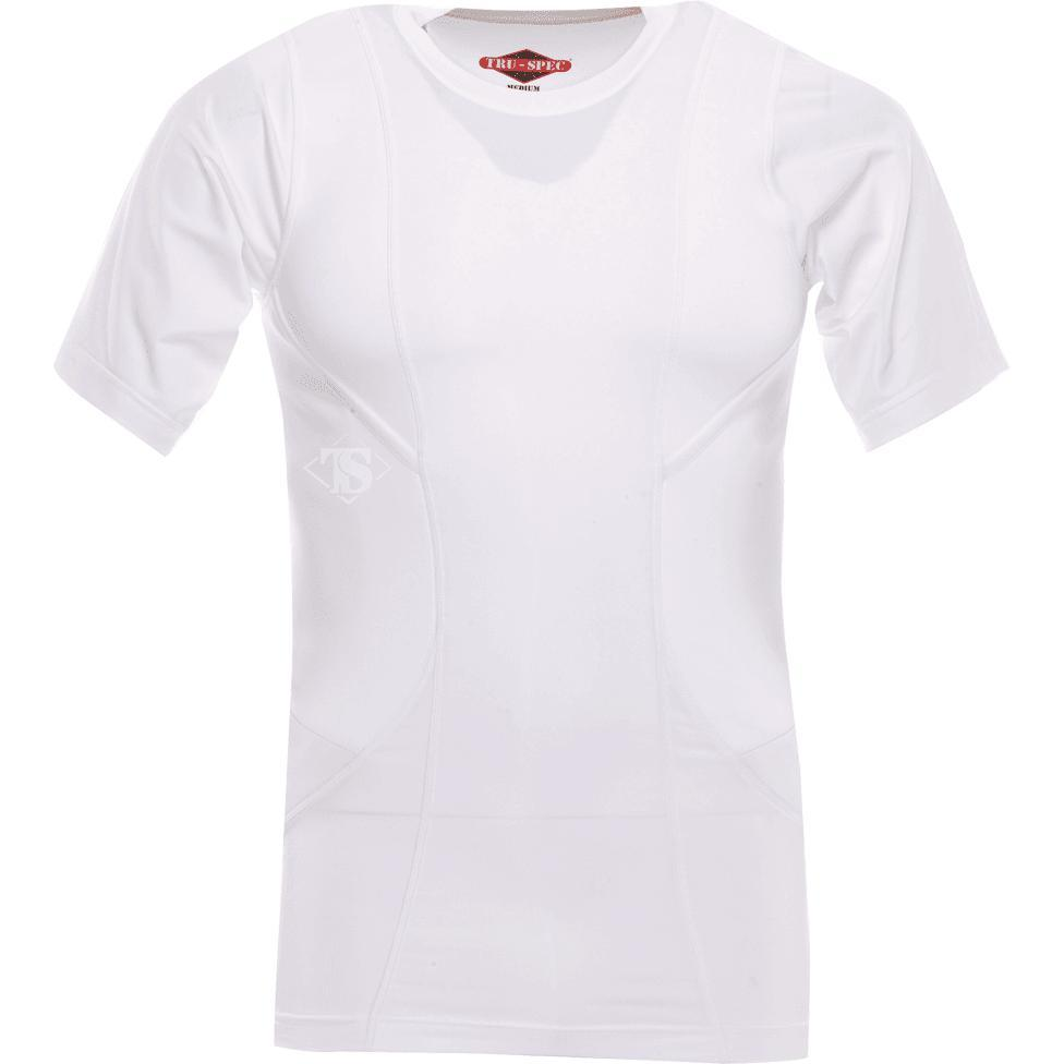 White; Tru-Spec Concealed Carry Shirt - HCC Tactical
