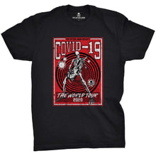 Black / Red; Pipe Hitters Union Covid-19 World Tour Tee - HCC Tactical