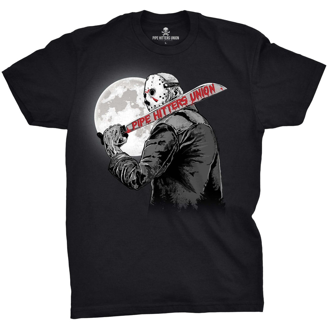 Black; Pipe Hitters Union Crystal Lake Hitter Tee - HCC Tactical