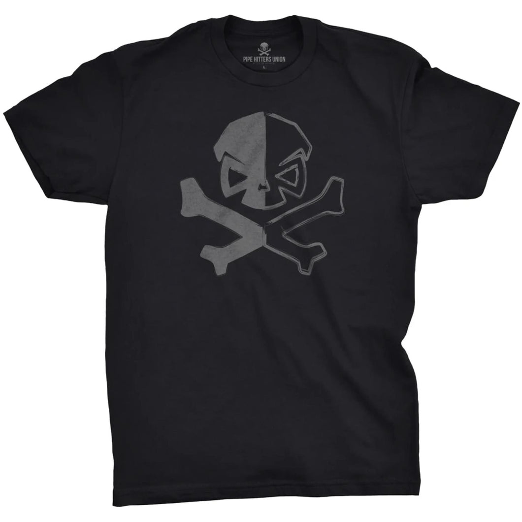 Black; Pipe Hitters Union Dichotomy of a Pipe Hitter Tee - HCC Tactical