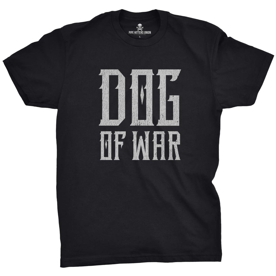 Black; Pipe Hitters Union Dog of War Tee - HCC Tactical
