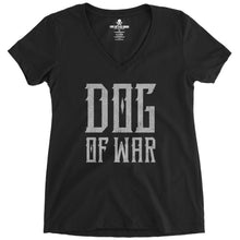 Black; Pipe Hitters Union Dog of War (V-Neck) - HCC Tactical
