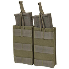 Ranger Green; Chase Tactical Double 5.56 Mag Pouch - HCC Tactical