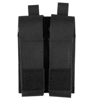 alt - Black; Grey Ghost Gear Double Pistol Magna Mag Pouch - Laminate - HCC Tactical