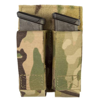 MultiCam; Grey Ghost Gear Double Pistol Magna Mag Pouch - Laminate - HCC Tactical