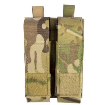 alt - MultiCam; Grey Ghost Gear Double Pistol Magna Mag Pouch - Laminate - HCC Tactical