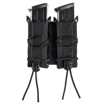 Black; High Speed Gear Double Pistol TACO® - MOLLE - HCC Tactical
