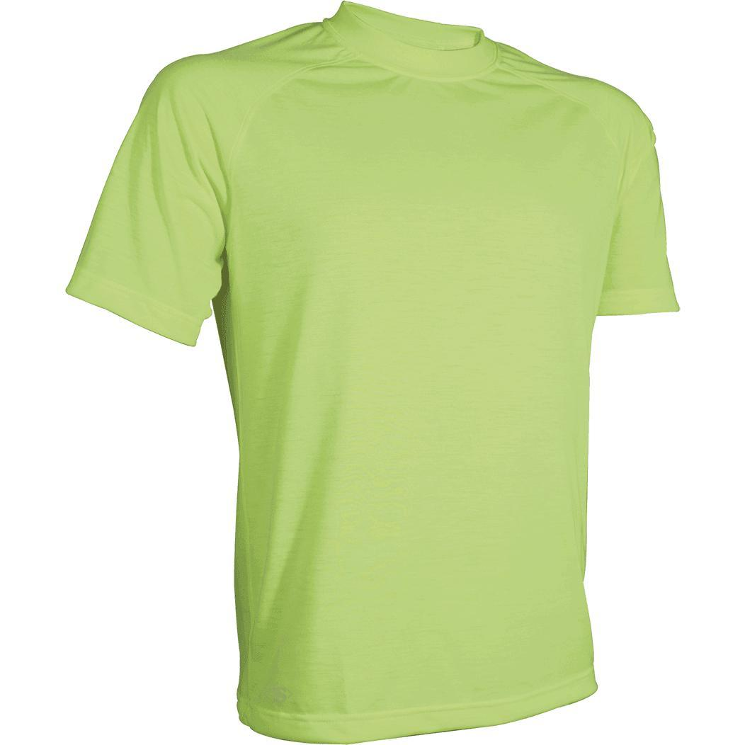 HiViz Yellow; Tru-Spec DriRelease Crew Neck T-Shirt - HCC Tactical