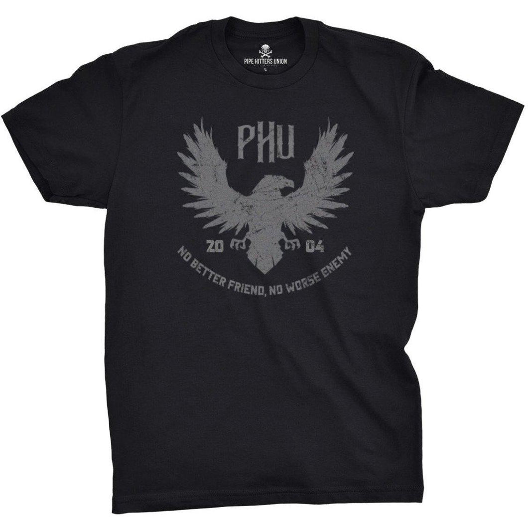Black; Pipe Hitters Union Eagle Tee - HCC Tactical