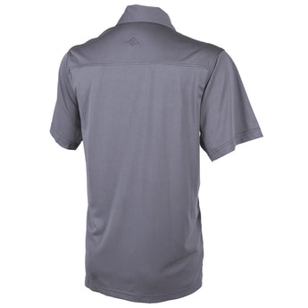 alt - Steel Grey; Tru-Spec Eco Tec Knit Camp Shirt - HCC Tactical