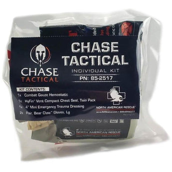 Clear; Chase Tactical EDC Medical Kit - HCC Tactical