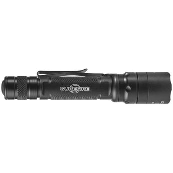Black; EDCL2-T Dual-Output LED Everyday Carry Flashlight Profile - HCC Tactical