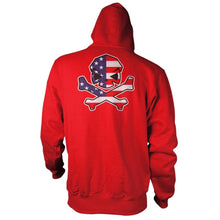 alt - Red; Pipe Hitters Union Freedom Hoodie - HCC Tactical