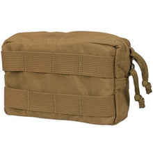 Coyote; Chase Tactical General Purpose Horizontal Utility Pouch - HCC Tactical