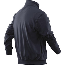 alt - Navy; Tru-Spec Grid Fleece Zip Thru Job Shirt - HCC Tactical