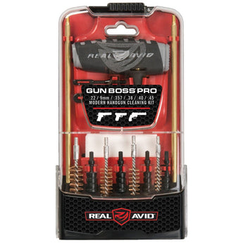 Real Avid - Gun Boss® Pro Handgun Cleaning Kit - HCC Tactical