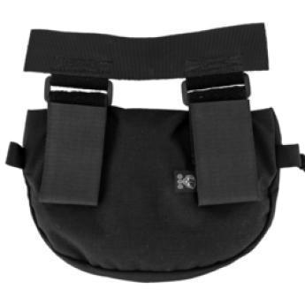 alt - Black; Grey Ghost Gear Gut Hider Pouch (Plate Carrier Acc. Pouch) - HCC Tactical