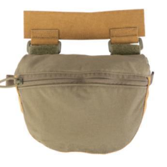 Ranger Green; Grey Ghost Gear Gut Hider Pouch (Plate Carrier Acc. Pouch) - HCC Tactical