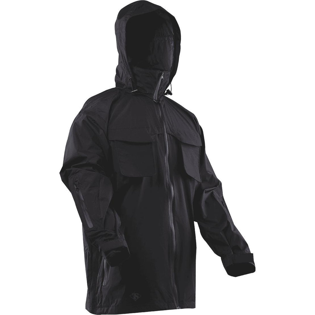 Black; Tru-Spec H20 Proof All Season Parka - HCC Tactical