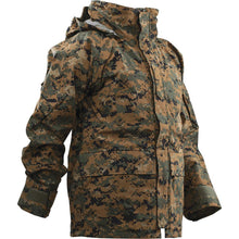Woodland Digital; Tru-Spec H20 Proof Gen 2 ECWCS Parka - HCC Tactical