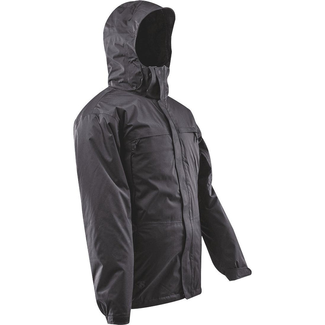 Black; Tru-Spec H2O Proof 3-in-1 Parka - HCC Tactical