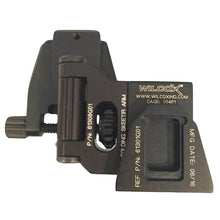 Black; Wilcox Helmet Mount Kit for IR Patrol Thermal Monoculars - HCC Tactical