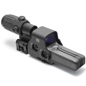 alt - Black; EOTech Holographic Hybrid Sight III™ 518.2 with G33.STS Magnifier - HCC Tactical