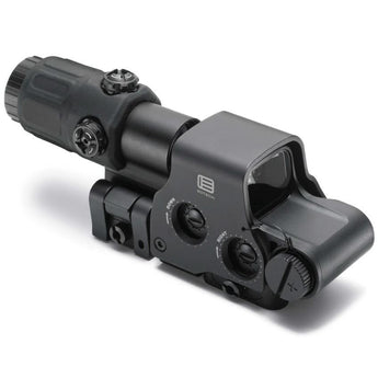 alt - Black; EOTech Holographic Hybrid Sight I™ EXPS3-4 with G33.STS Magnifier - HCC Tactical