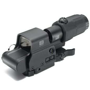 Black; EOTech Holographic Hybrid Sight I™ EXPS3-4 with G33.STS Magnifier - HCC Tactical