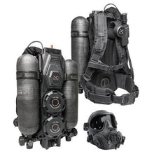 alt - Black; Wilcox Hybrid Life Support Systems - HCC Tactical
