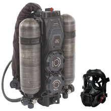 Black; Wilcox Hybrid Life Support Systems - HCC Tactical