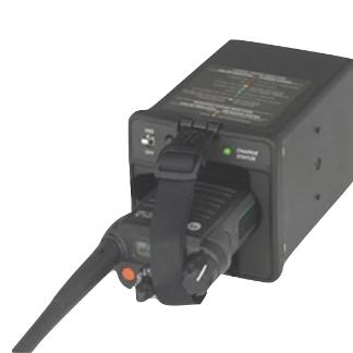 Black; Motorola IMPRES Vehicular Charger 7624 - HCC Tactical