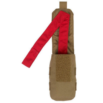 alt - Coyote; Chase Tactical Individual First Aid (IFAK) Pouch - HCC Tactical