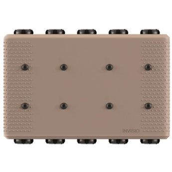 Tan; INVISIO Intercom - HCC Tactical