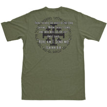 alt - Military Green; Pipe Hitters Union Isaiah 6.8 Tee - HCC Tactical