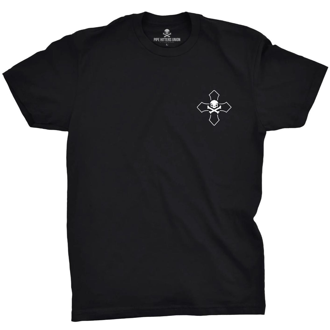 Black; Pipe Hitters Union Isaiah 6.8 Tee - HCC Tactical
