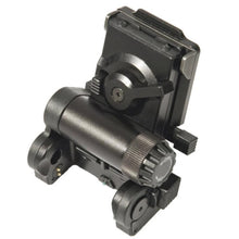 Black; Wilcox L4 G01 NVG Helmet Mount for AN/PVS-23 NVG'S - HCC Tactical